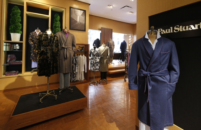 The Paul Stuart Madison Avenue flagship.