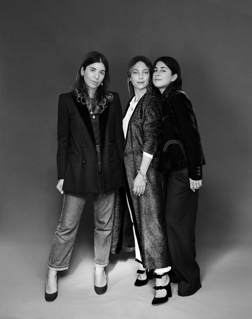 Corrada Rodriguez d'Acri, Maria Sole Torlonia and Delfina Pinardi
