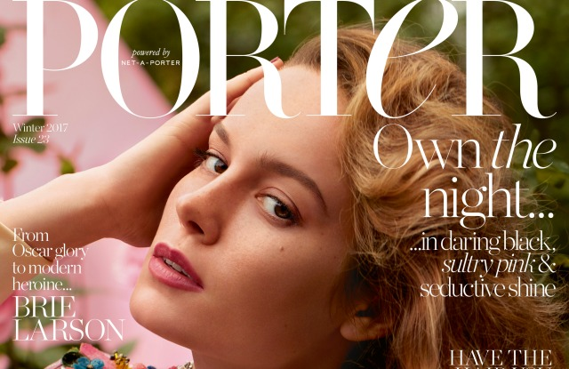 Porter's Incredible Women issue.