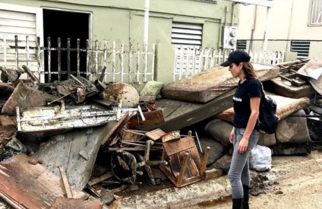 Bethenny Frankel on a visit to Puerto Rico Oct. 2.