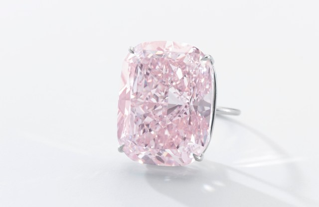 The 37.3 carat Raj Pink diamond