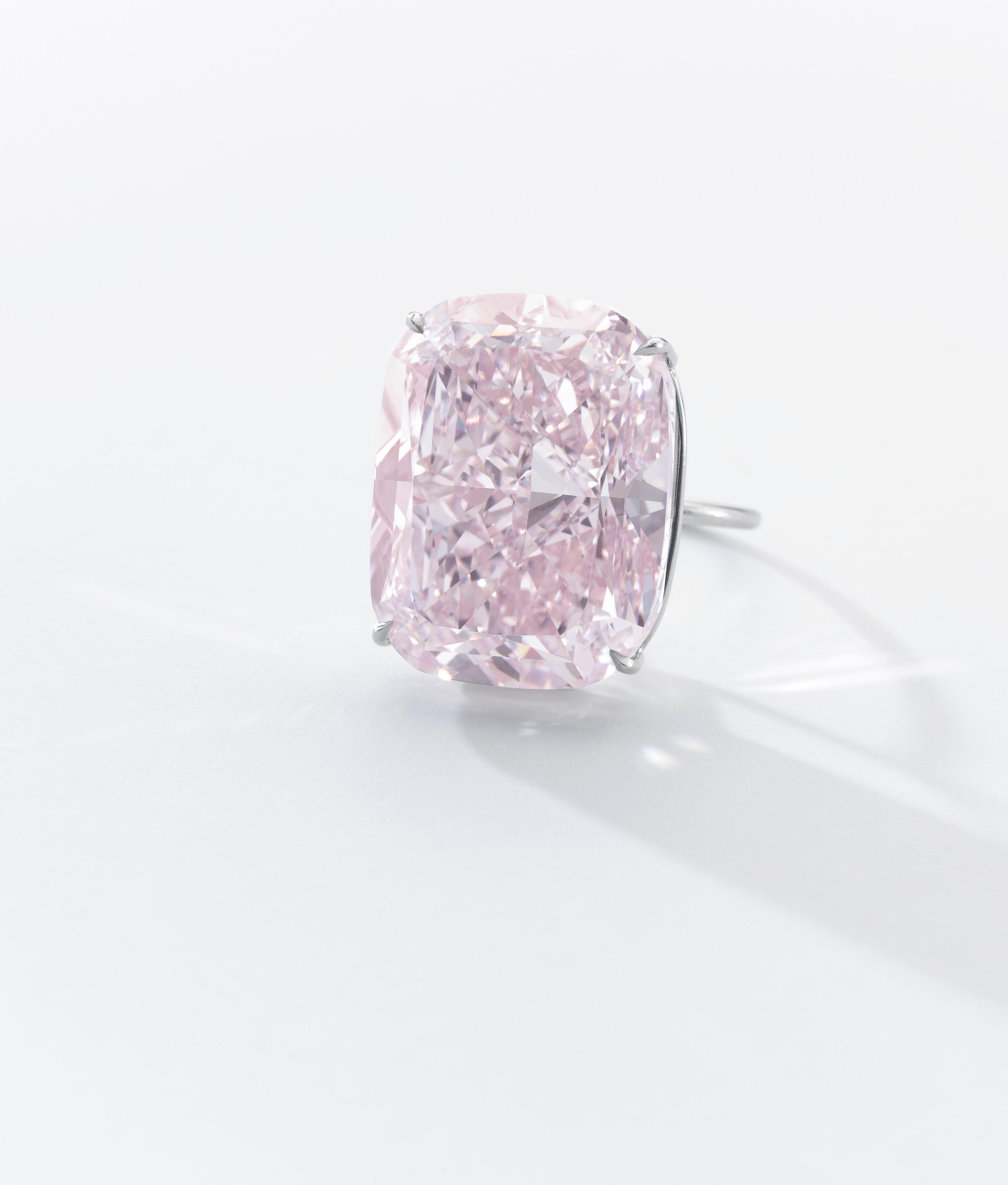 The 37.3 carat Raj Pink diamond