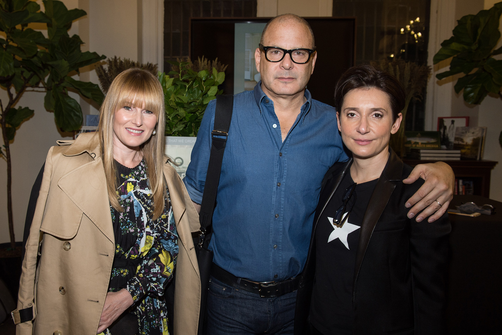 Amy Astley, Reed Krakoff and Delphine Krakoff.