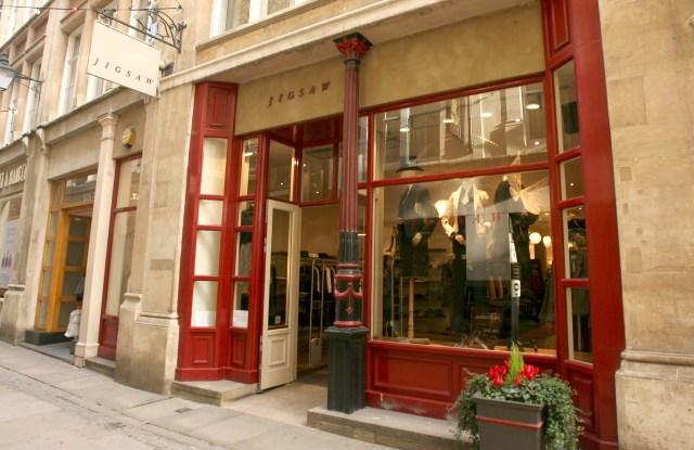 The Jigsaw shop in Bow Lane, London,