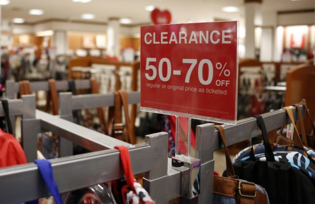 J.C. Penney cut prices to clear slow-moving goods in the third quarter.