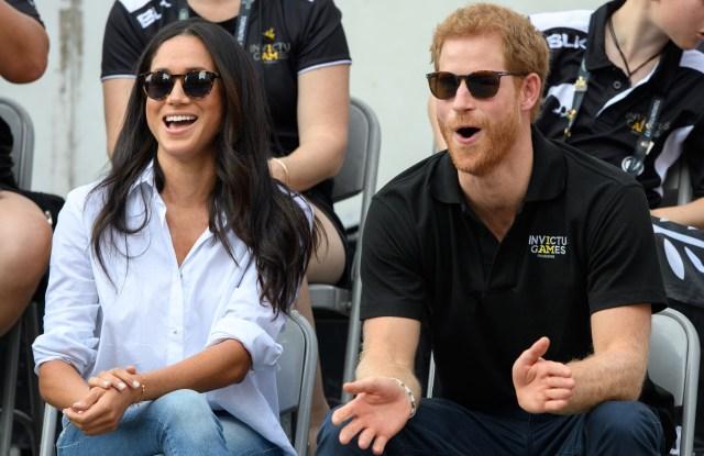 Meghan Markle and Prince HarryInvictus Games, Toronto, Canada - 25 Sep 2017