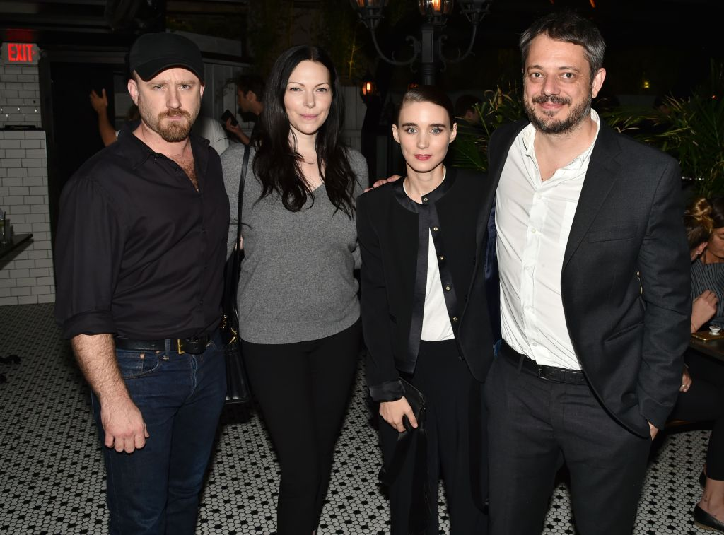 Ben Foster, Laura Prepon, Rooney Mara and Benedict Andrews'Una' film screening, After Party, New York, USA - 04 Oct 2017