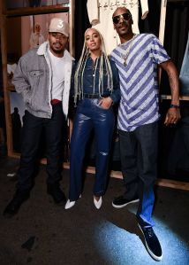 Chance the Rapper, Solange Knowles and Snoop DoggLevi's Trucker Jacket 50th Anniversary Party, Los Angeles, USA 05 Oct 2017