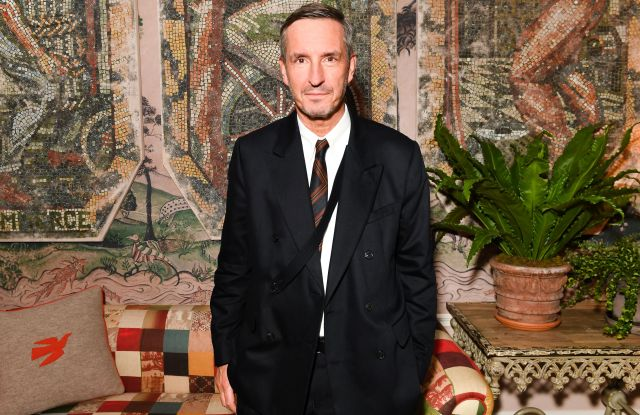 Dries Van Noten'Dries' documentary celebration, The Whitby Hotel, New York, USA - 10 Oct 2017Bergdorf Goodman and Dries Van Noten celebrate the US debut of documentary' Dries' by filmmaker Reiner Holzemer