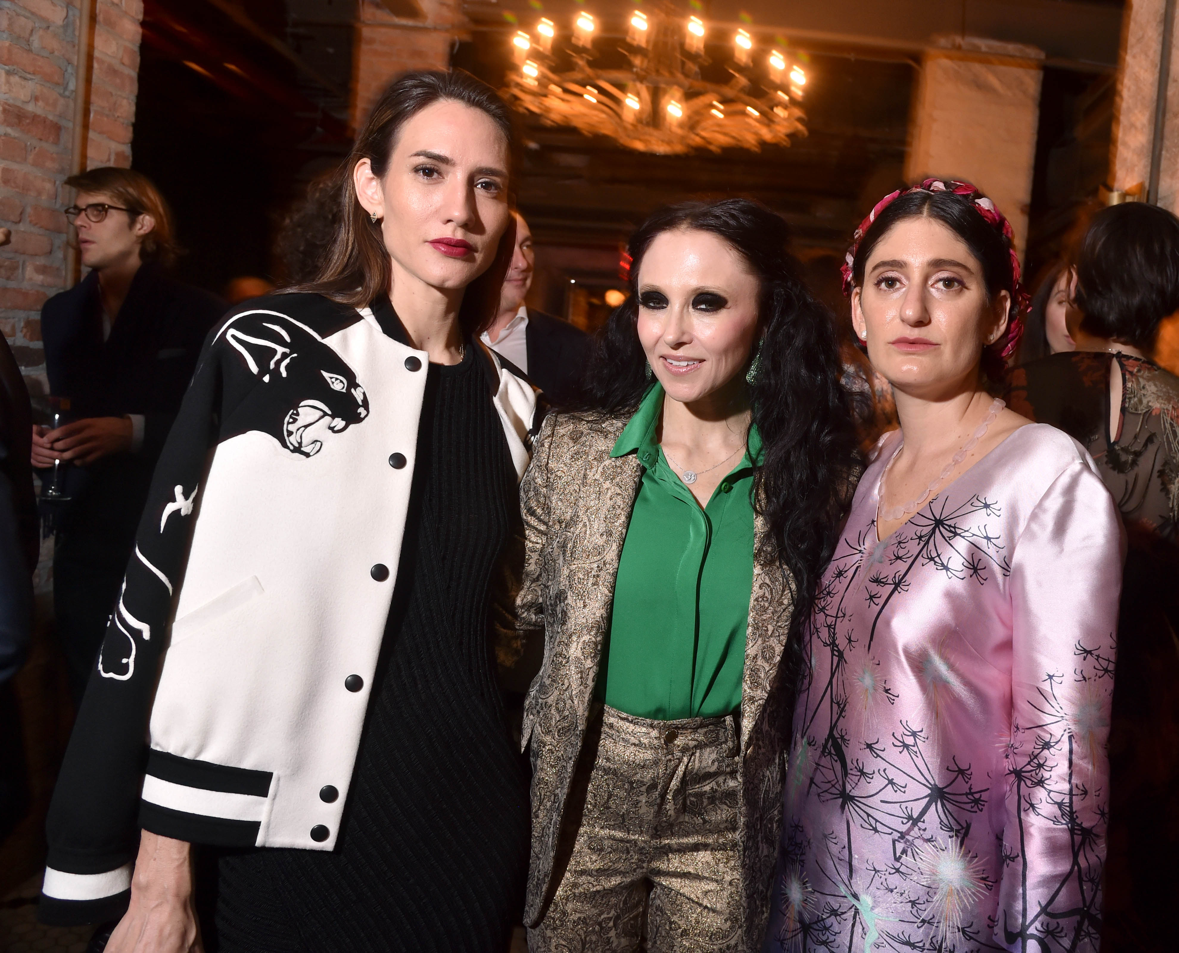 Zani Gugelmann, Stacey Bendet, Arden WohlThe Lunchbox Fund's Fall Benefit Dinner and Auction, New York, USA - 12 Oct 2017