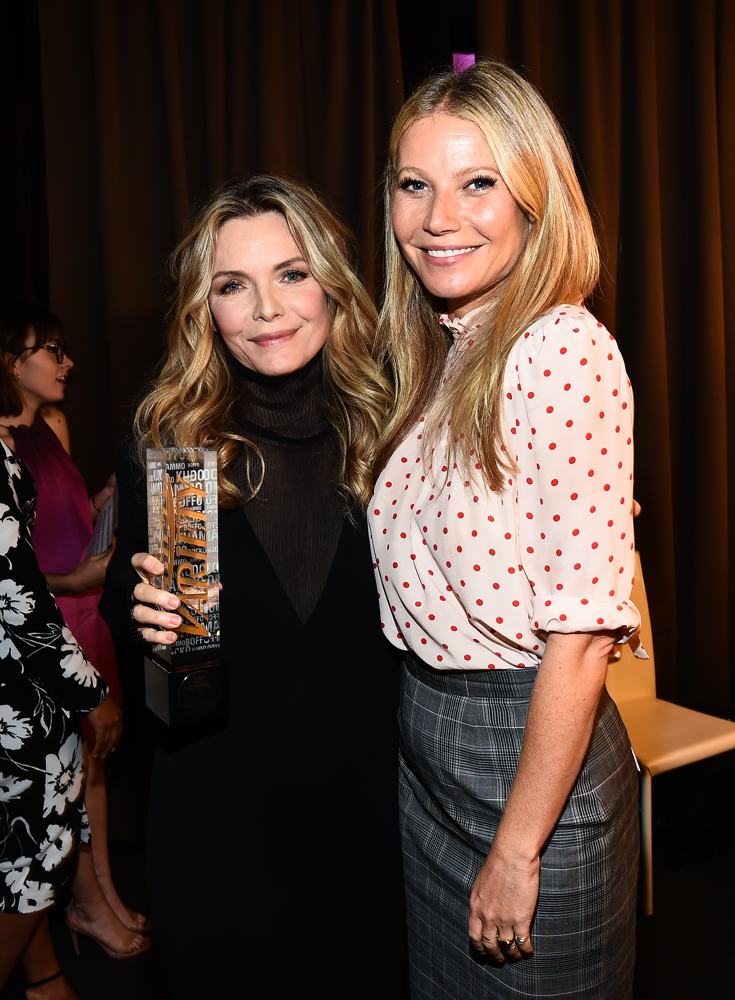 Michelle Pfeiffer and Gwyneth PaltrowVariety's Power of Women Presented by Lifetime, Inside, Los Angeles, USA - 13 Oct 2017