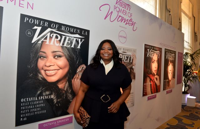 Octavia SpencerVariety's Power of Women Presented by Lifetime, Inside, Los Angeles, USA - 13 Oct 2017