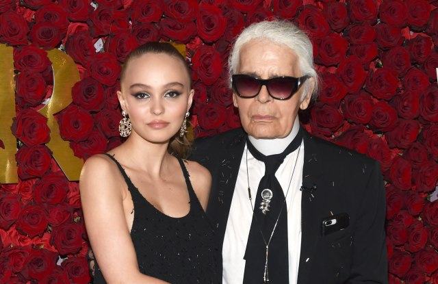 Lily-Rose Depp, Karl Lagerfeld2nd Annual WWD Honors, Arrivals, New York, USA - 24 Oct 2017