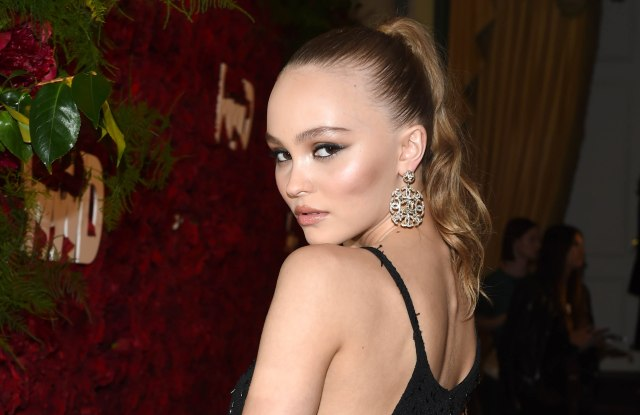 Lily-Rose Depp2nd Annual WWD Honors, Arrivals, New York, USA - 24 Oct 2017