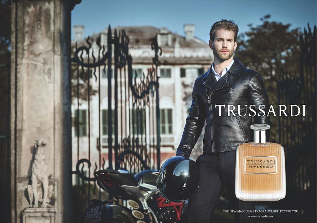 Trussardi Riflesso ad campaign.