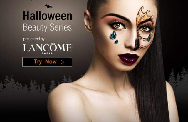 A Halloween makeup look from Lancôme.