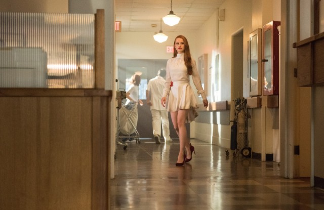 "Riverdale -- ""A Kiss Before Dying"" -- Image Number: RVD201b_0297.jpg -- Pictured: Madelaine Petsch as Cheryl Blossom -- Photo: Dean Buscher/The CW -- © 2017 The CW Network. All Rights Reserved"