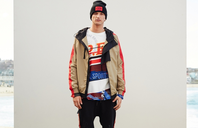 A look from the P.E. Nation men's line.