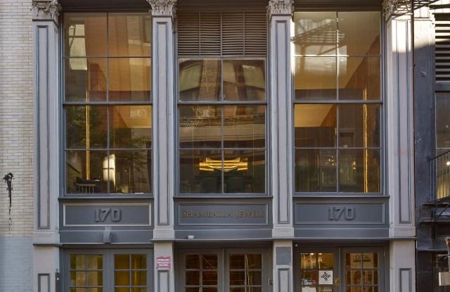 The Shamballa store front in SoHo.