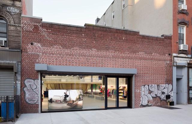 Supreme store in Williamsburg, Brooklyn.