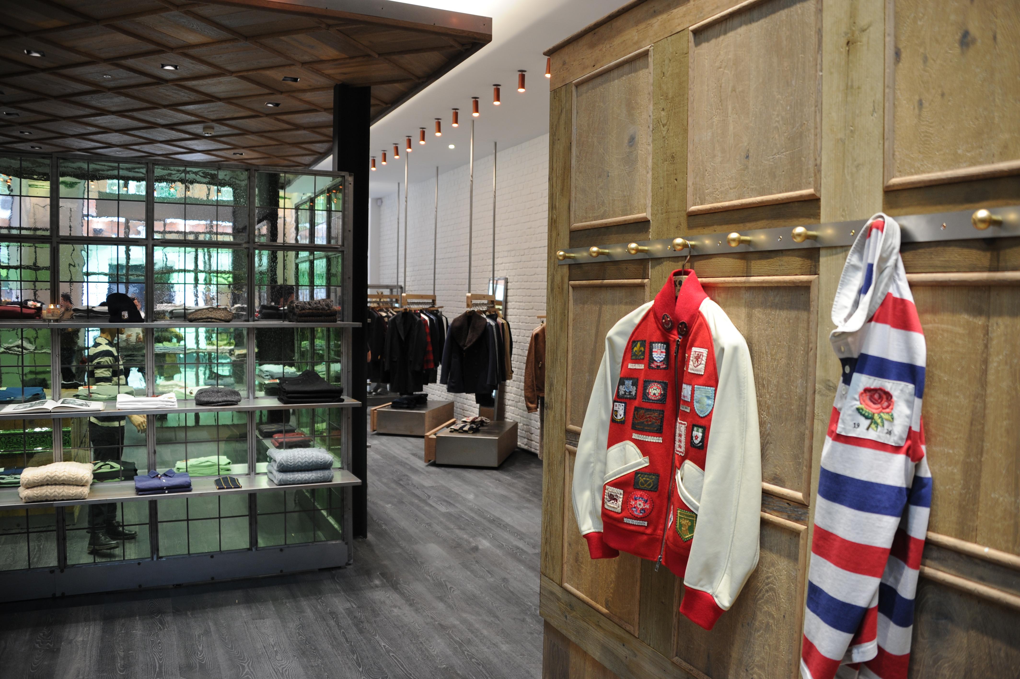 Kent & Curwen's new Covent Garden store