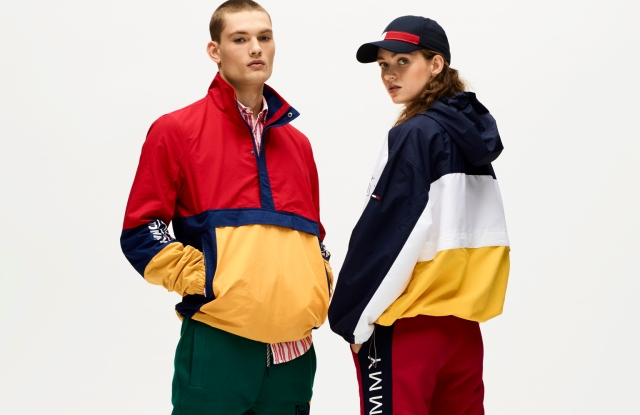 Pre-spring '18 looks from Tommy Jeans.