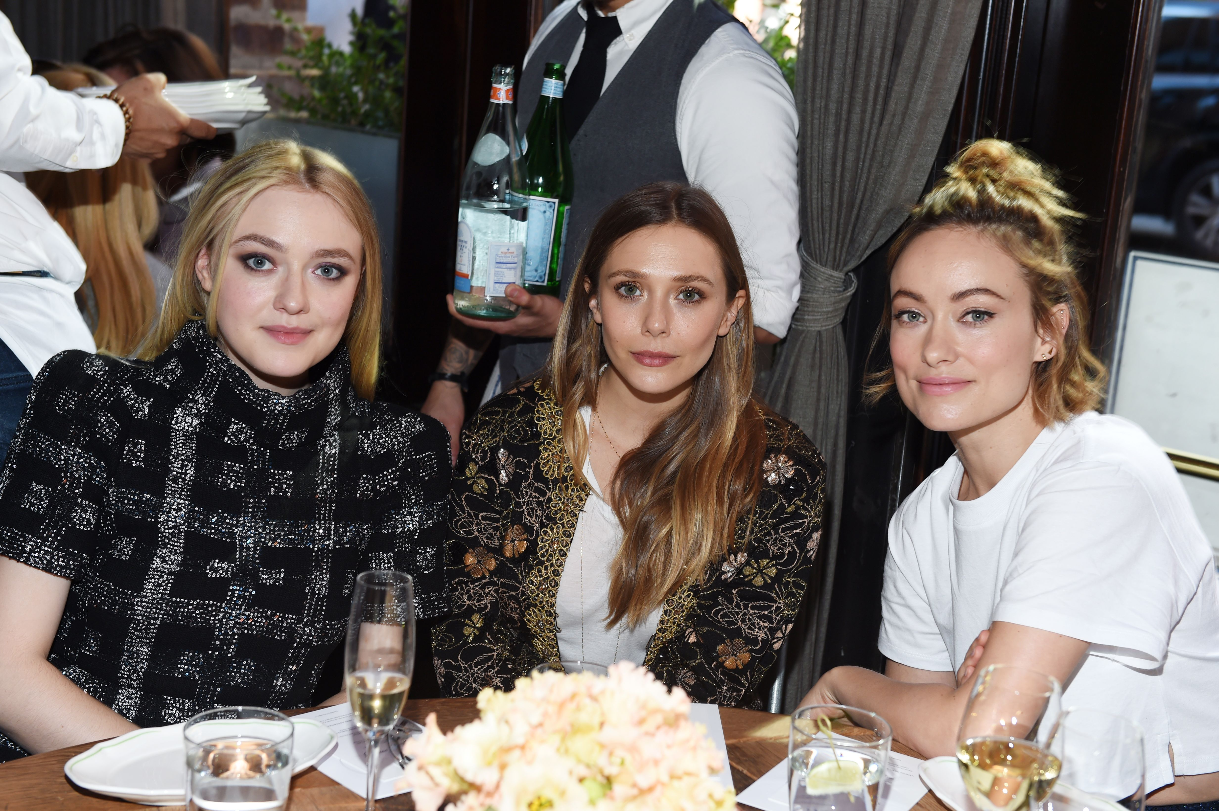 Dakota Fanning, Elizabeth Olsen, Olivia WildeThrough Her Lens: The Tribeca Chanel Women's Filmmaker Program Luncheon, Inside, New York, USA - 17 Oct 2017