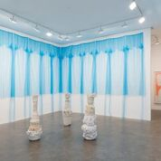 """Beverly Semmes """"Bow"""" at the Susan Inglett Gallery."""