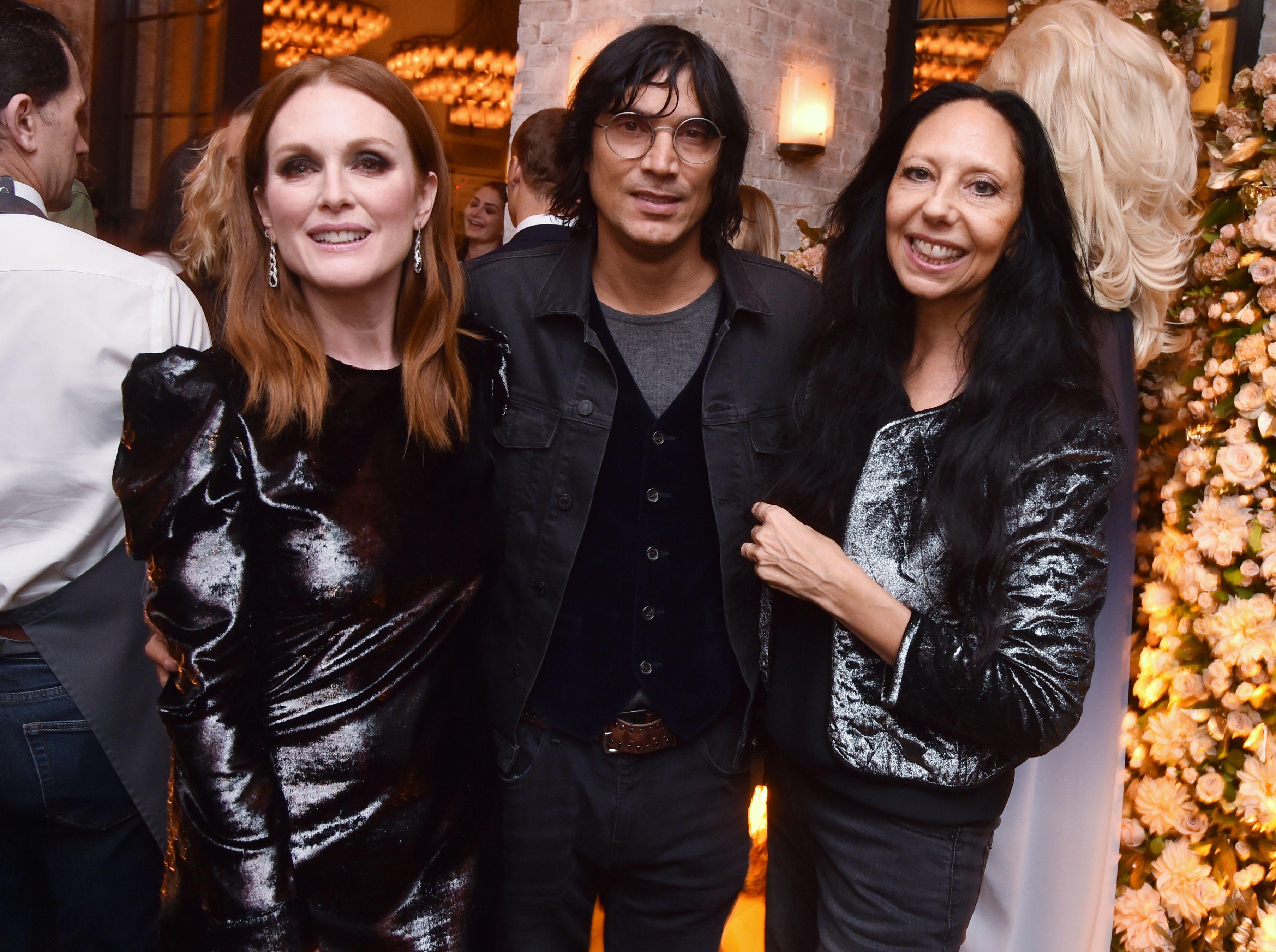 Julianne Moore, Vinoodh Matador and Inez van Lamsweerde