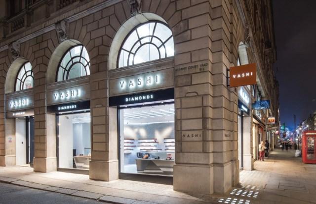 The Vashi Diamonds store in London.