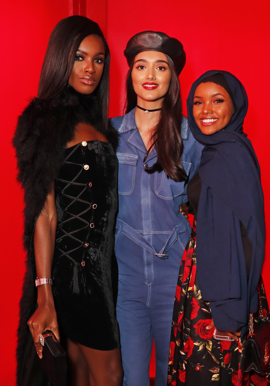 Leomie, Neelam, and Halima