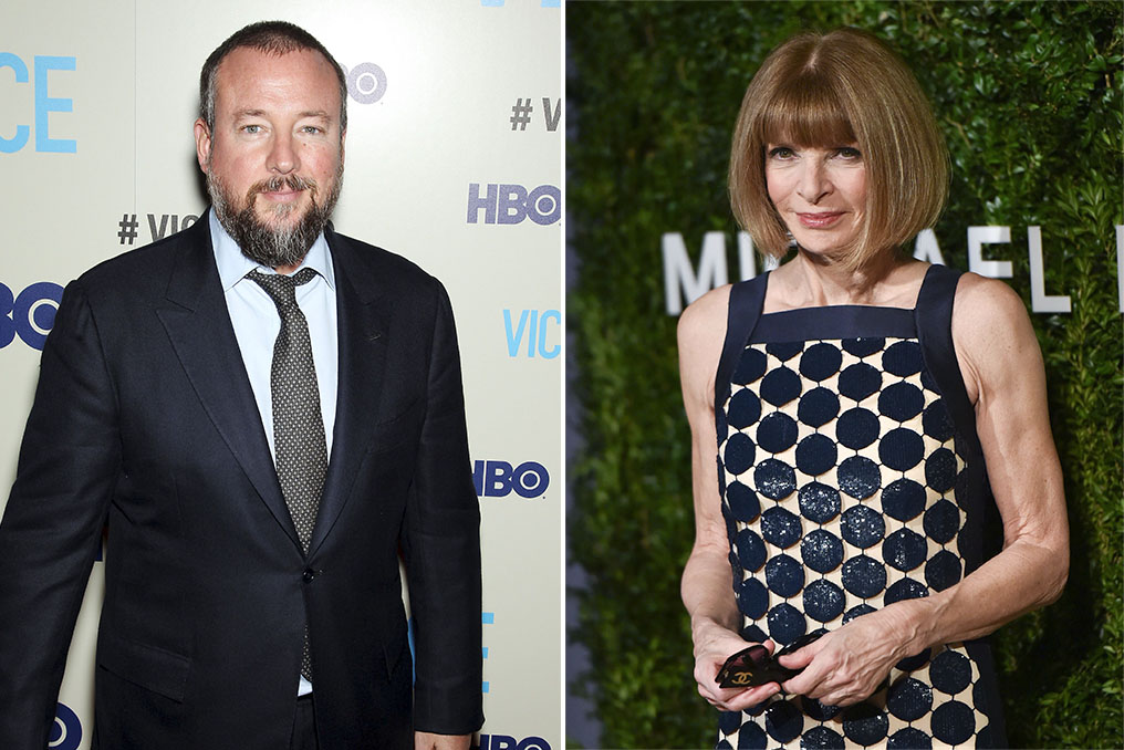 Shane Smith and Anna Wintour