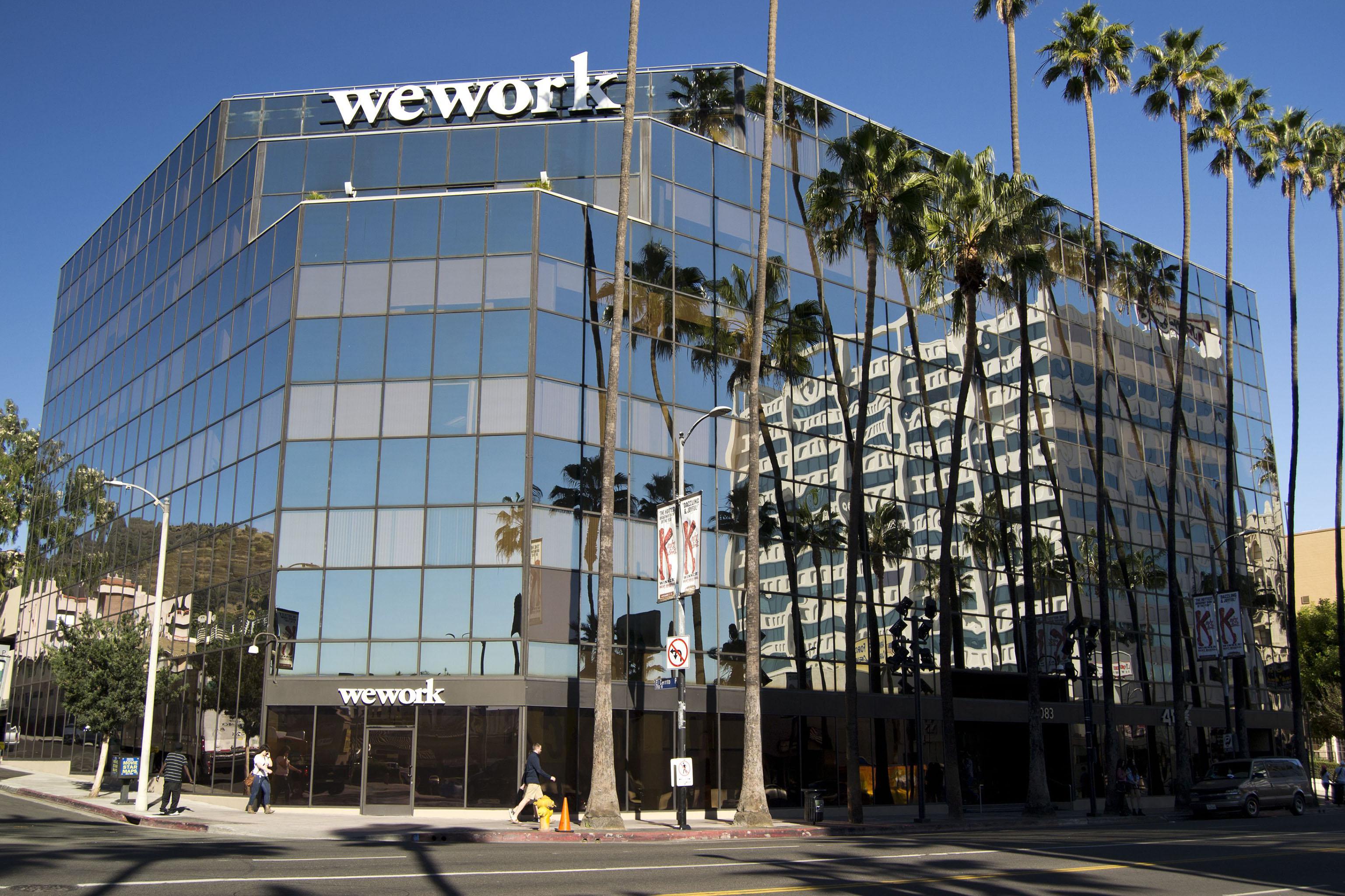 Wework on Sunset, Los Angeles.