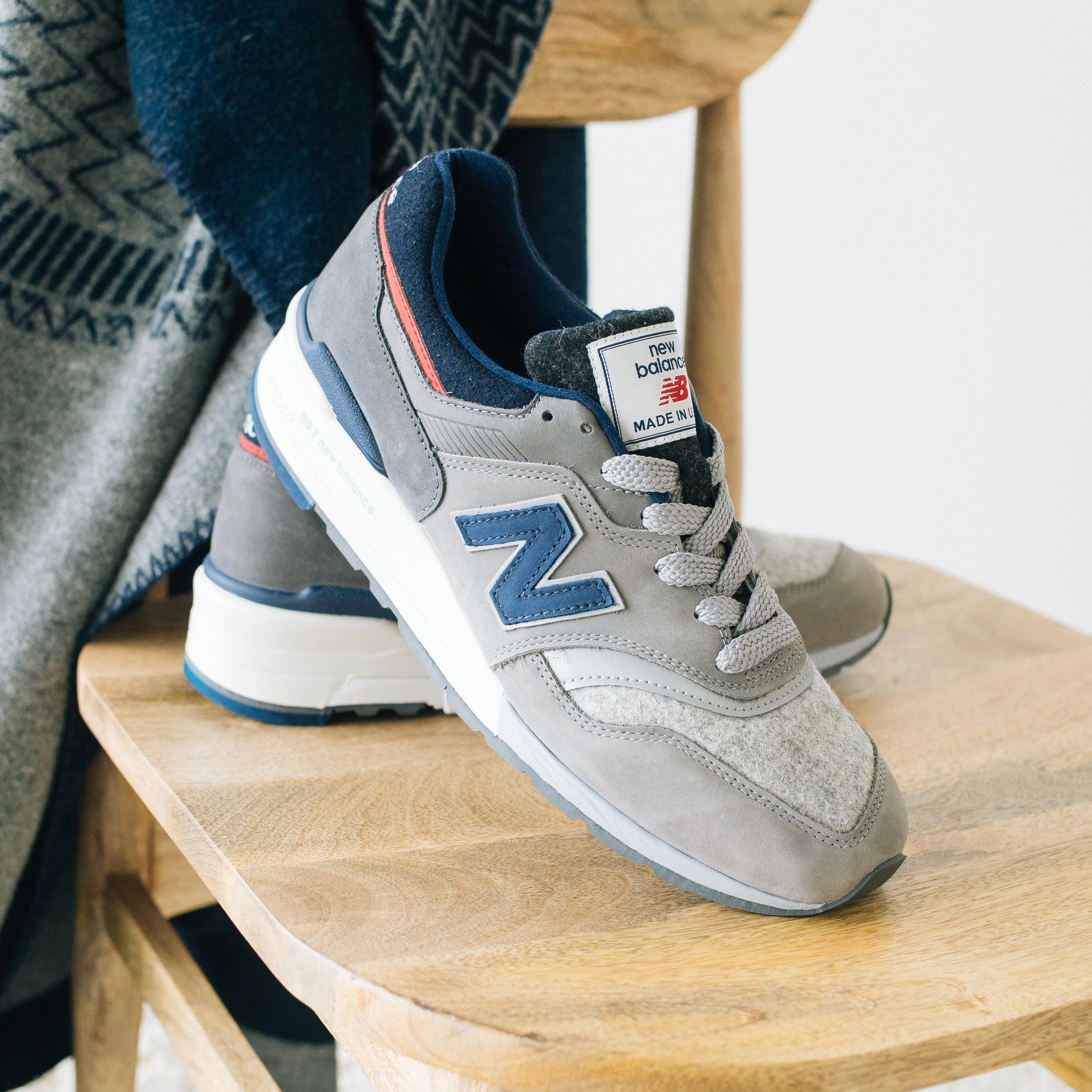 new balance 997 woolrich