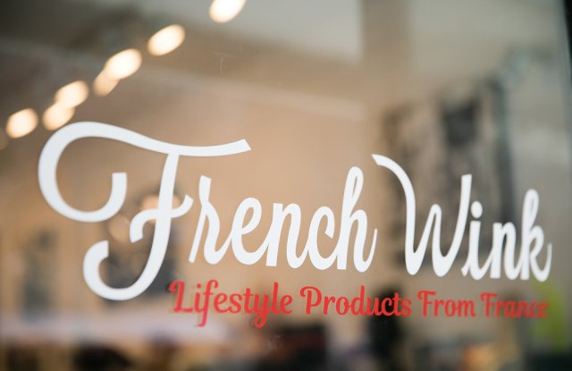 French Wink's December pop-up will the company's biggest  yet.