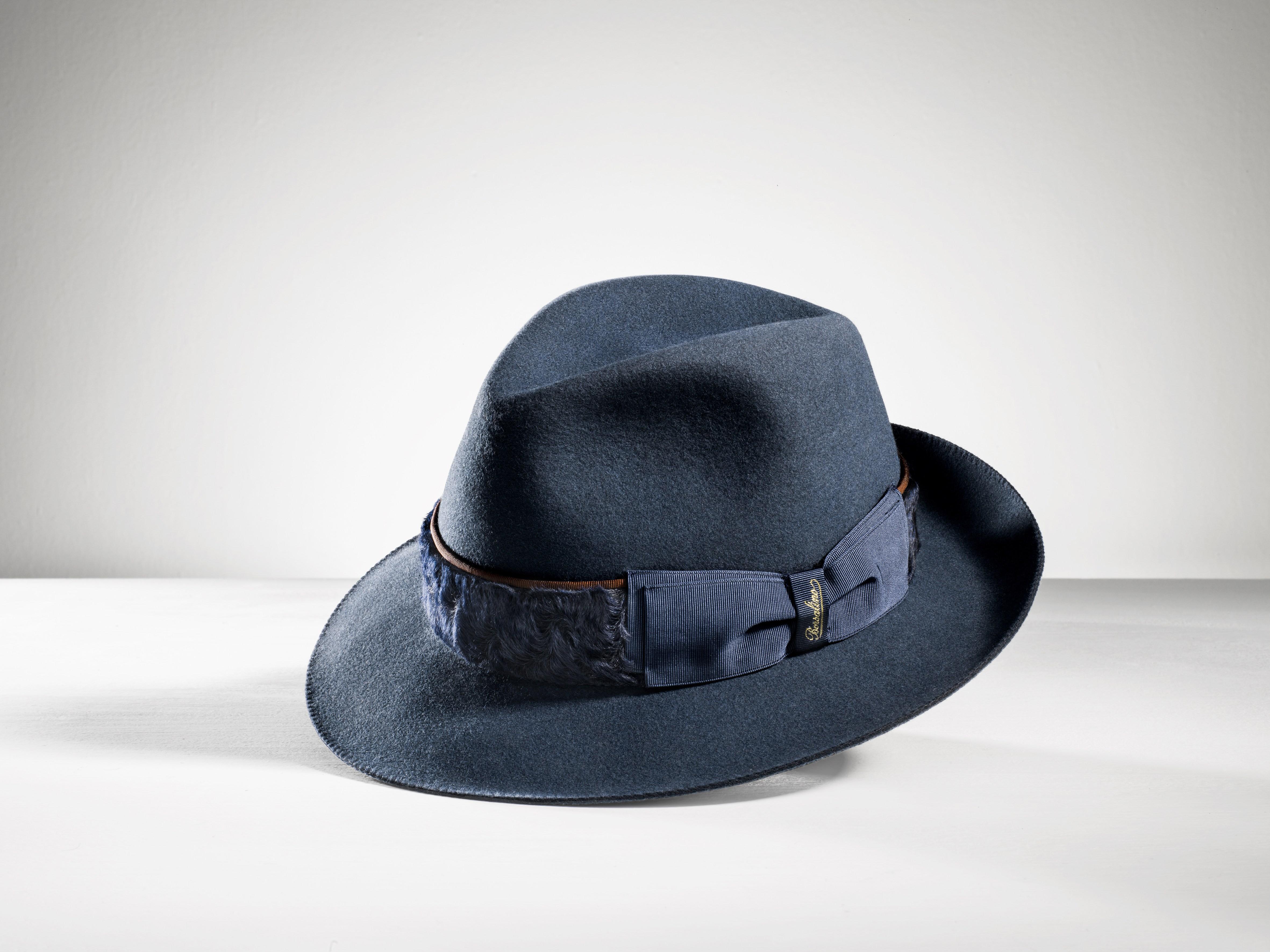 """Borsalino """"Siur Pipen"""" hat."""