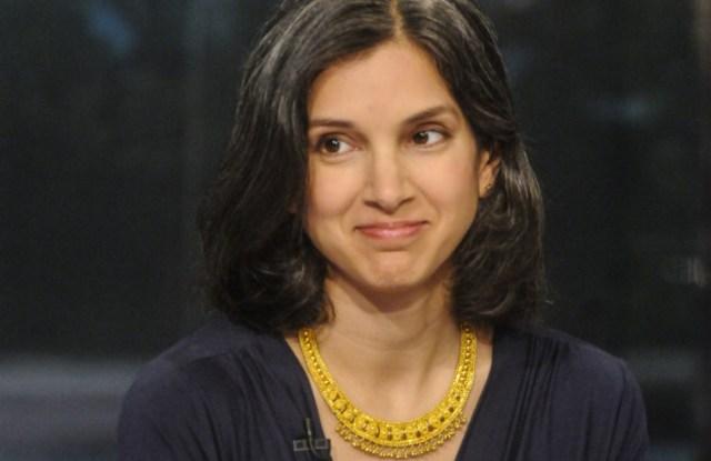 New Vanity Fair editor in chief Radhika Jones.