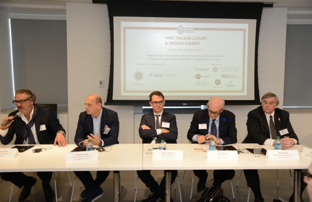 First Italian Luxury & Design Summit held in New York.