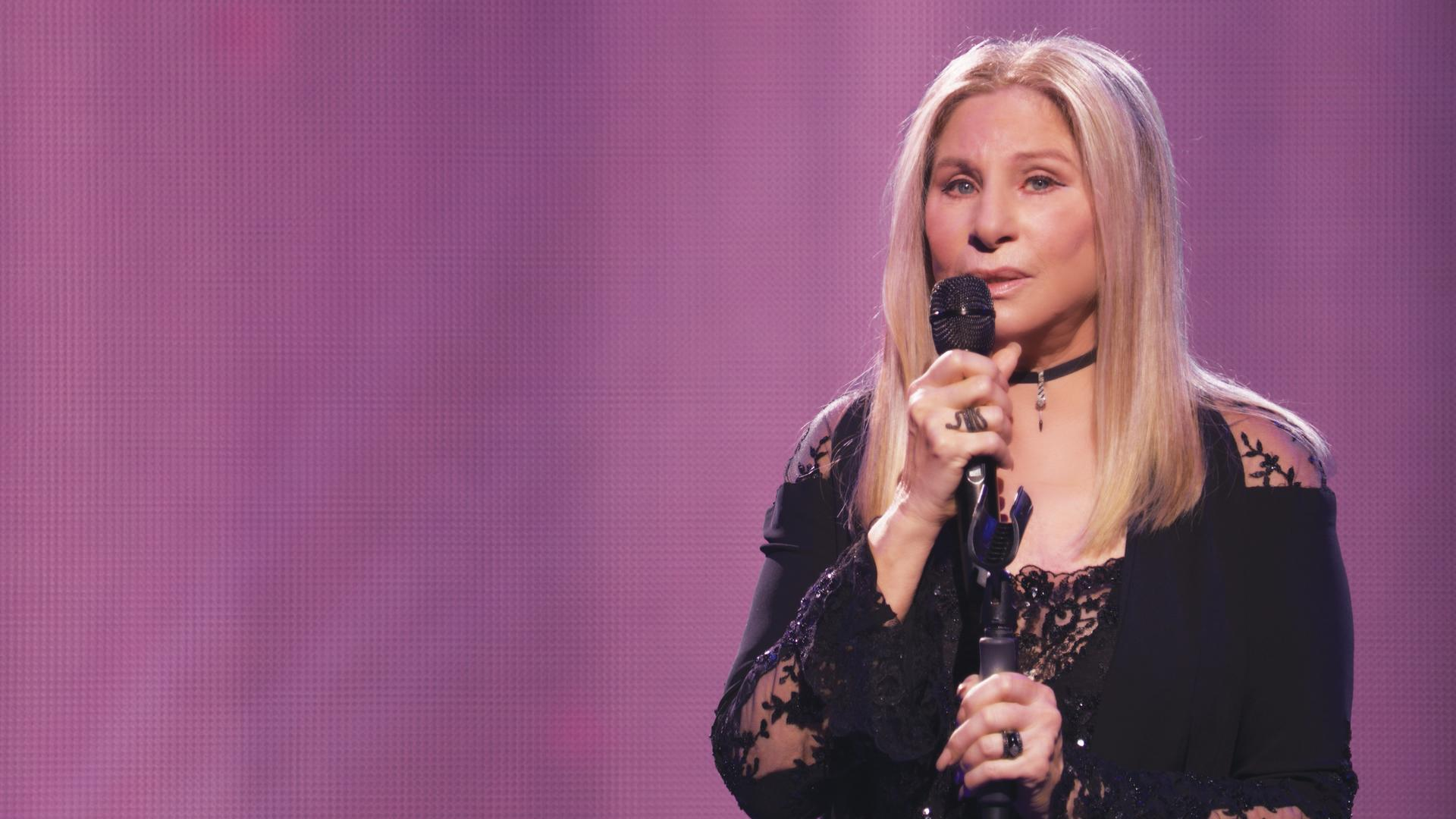 "Barbra Streisand in Donna Karan for ""Barbra: The Music ... The Mem'ries ... The Magic!"""