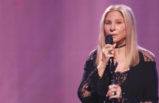 "Barbra Streisand in Donna Karan for ""Barbra: The Music ... The Mem'ries ... The Magic!"""