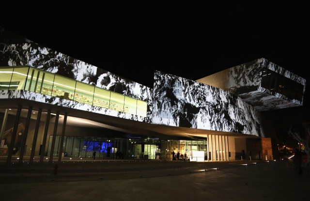 ROME, ITALY - NOVEMBER 13: A general view at MAXXI Acquisition Gala Dinner 2017 at Maxxi on November 13, 2017 in Rome, Italy. (Photo by Elisabetta Villa/Getty Images)