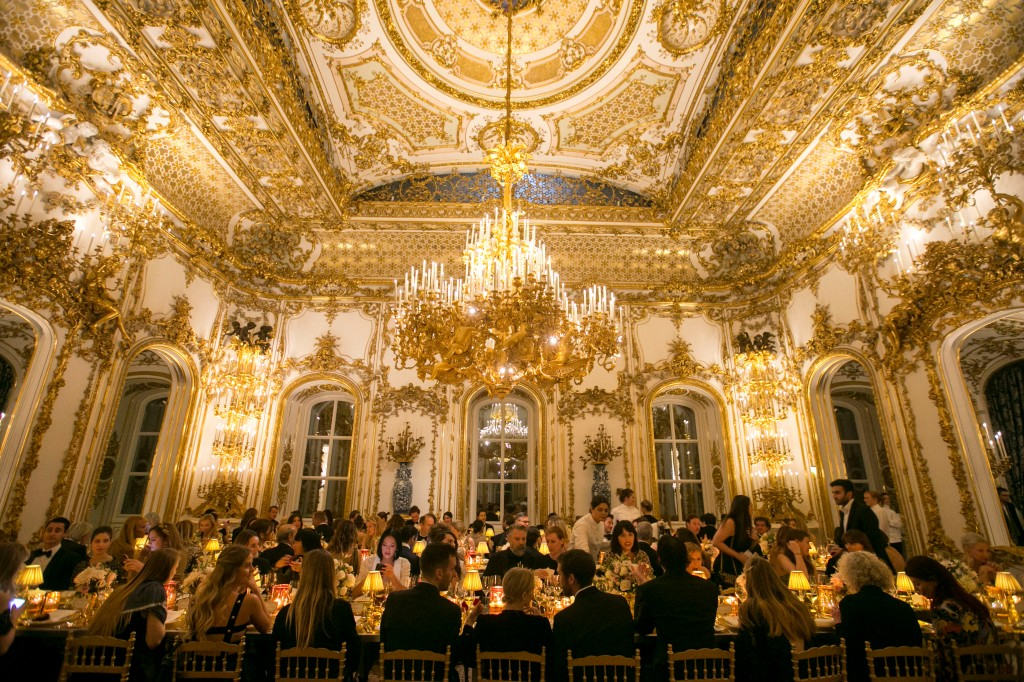 Aquazurra x Mytheresa.com Woman in Gold dinner in Wien, Austria.