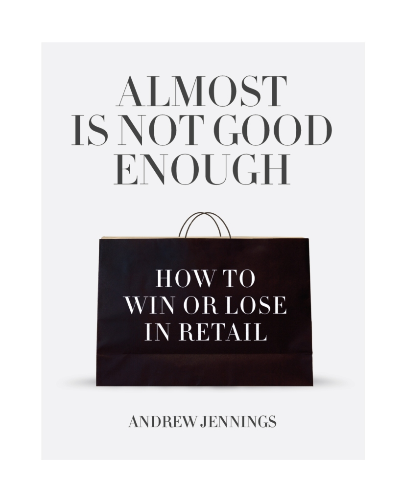 """The cover of Andrew Jennings new book """"Almost is Not Good Enough"""""""