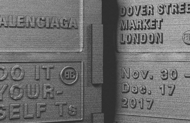 An animation for the Balenciaga copyshop at Dover Street Market in London.