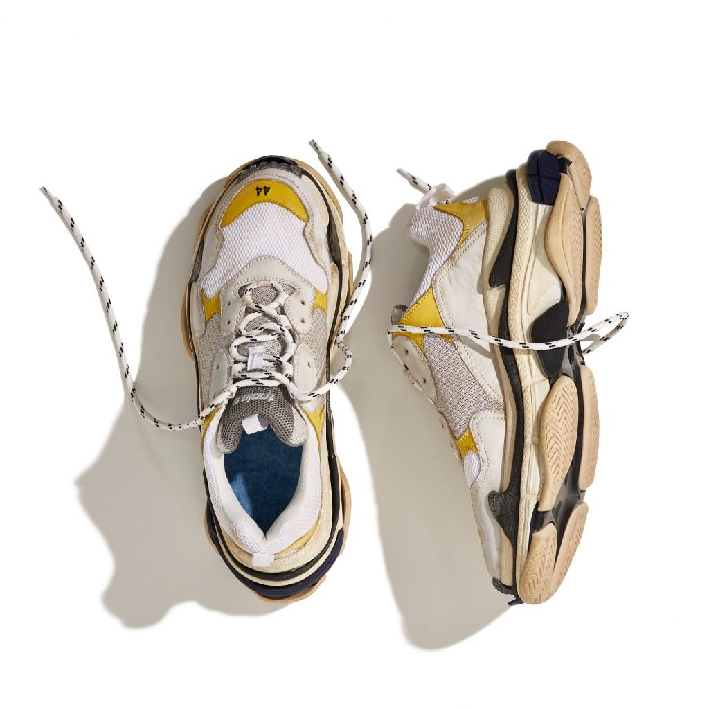 The Balenciaga Triple S sneaker exclusive to Dover Street Market.
