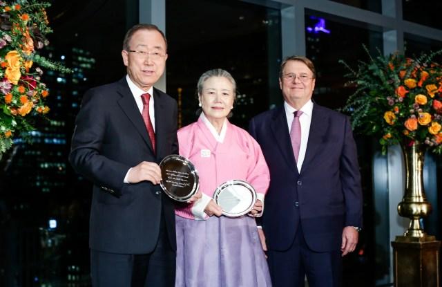 Ban Ki Moon, Yoo Soon-Taek, Daniele Bodini