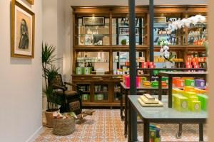 Inside Granado's Paris boutique.
