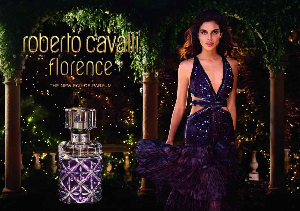 Roberto Cavalli Florence advertising campaign.