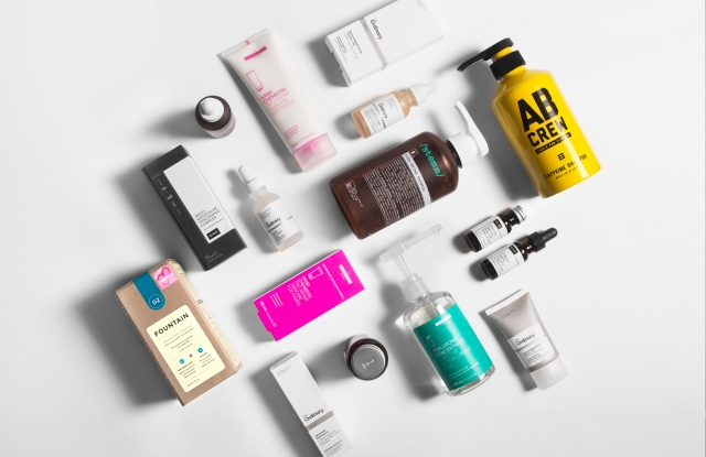 Deciem products.