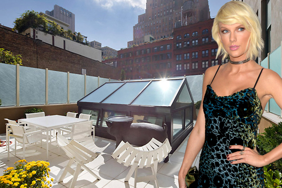 Taylor Swift's TriBeCa town house.